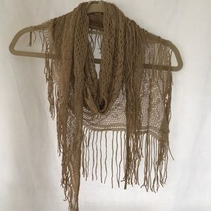 Accessories - Funky gold scarf/shawl